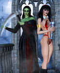 Lana and Daedra