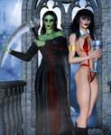 Lana and Daedra