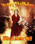 Happy Birthday Reuben Langdon! 2013 by Silverwind3D