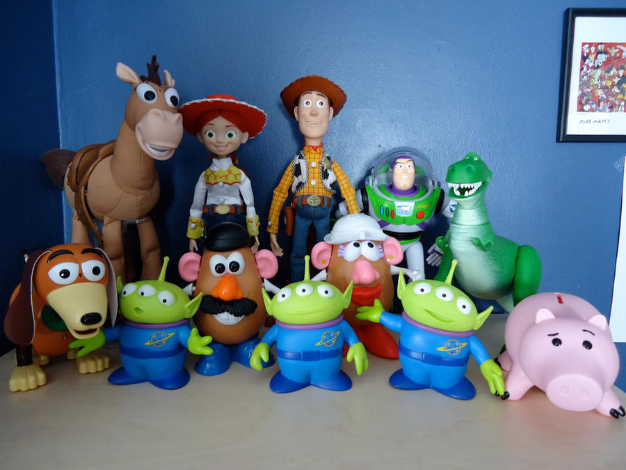 Toy Story Collection 4 By Crazyass246 On DeviantArt