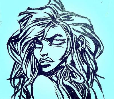 Sketch by rosskamela33