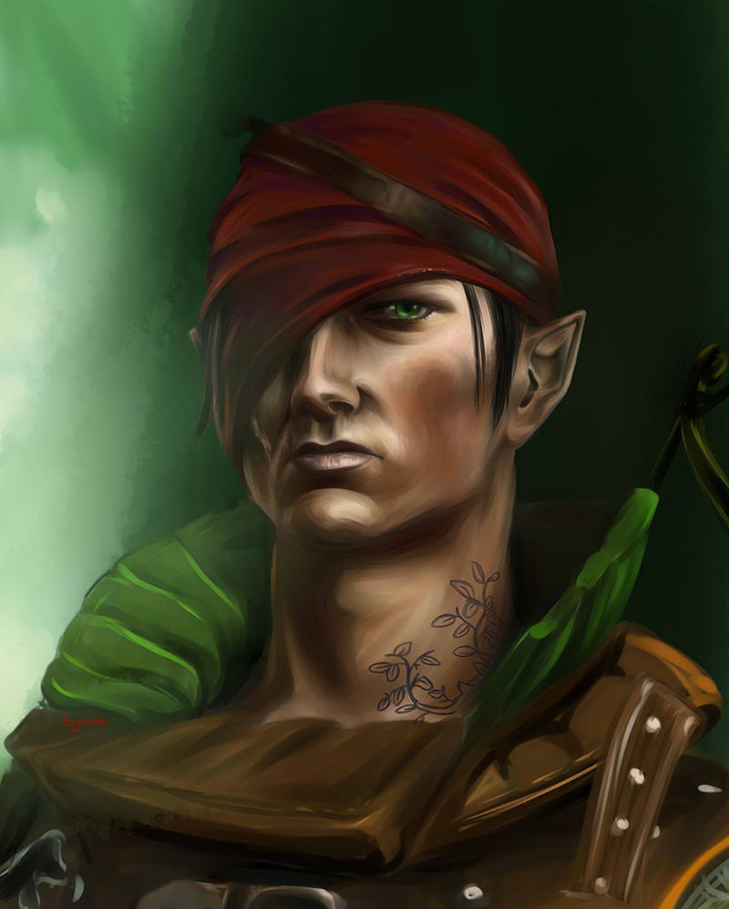 Iorveth by Togaochi