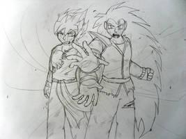 brother kamehameha sketch by Ilovevegeta123