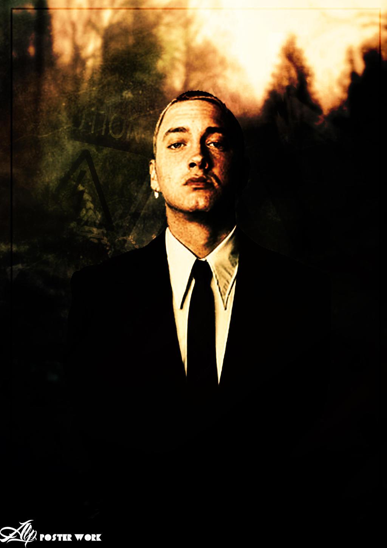 Eminem Poster Eminem poster work byVintage Eminem Poster