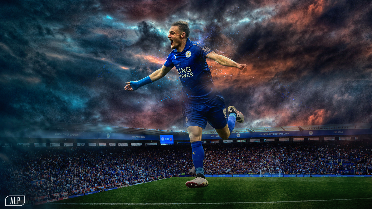Jamie Vardy By AlpGraphic13 On DeviantArt