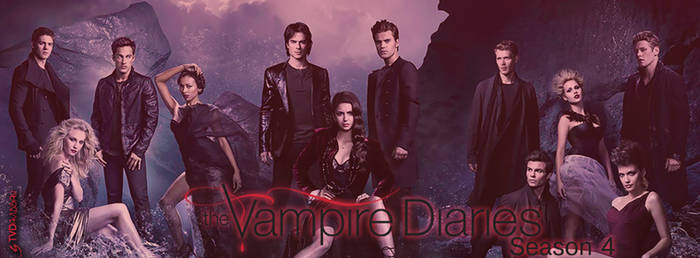 The Vampire Diaries Cast [Season 4]