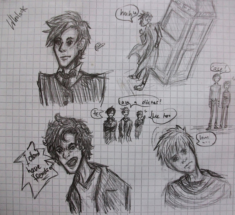 Random Wholock Sketch by GeorginoschkaVincen