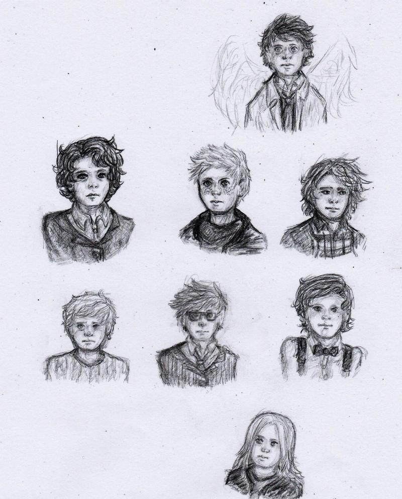 SuperWhoLock Kids by GeorginoschkaVincen