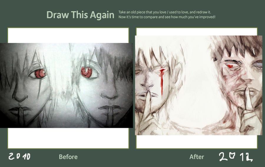 One Eye - Drawn again by GeorginoschkaVincen
