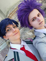 Shinsou and IIda by GeorginoschkaVincen