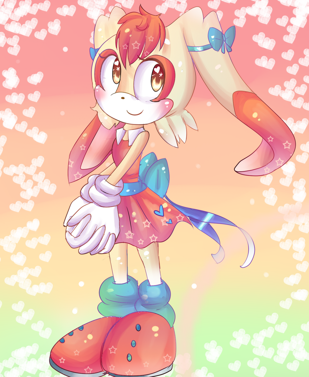 Older Cream the Rabbit by oOShine-StarOo on DeviantArt