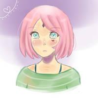 Sakura Haruno by oOShine-StarOo
