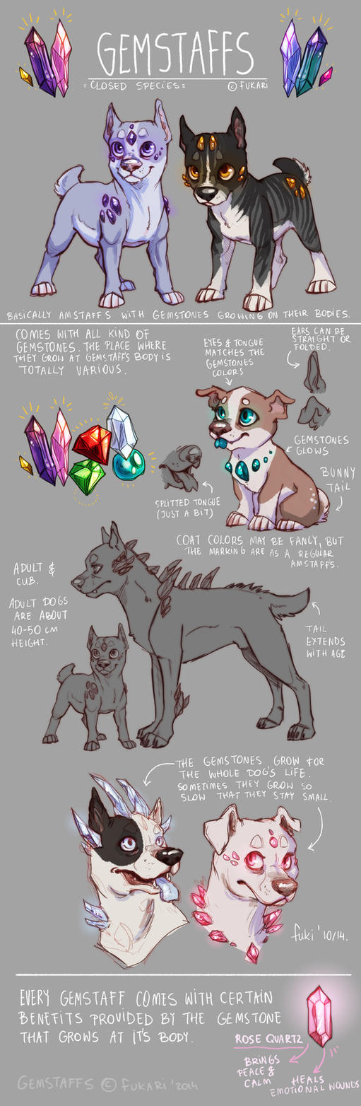 Gemstaffs Species Sheet by Fuki-adopts