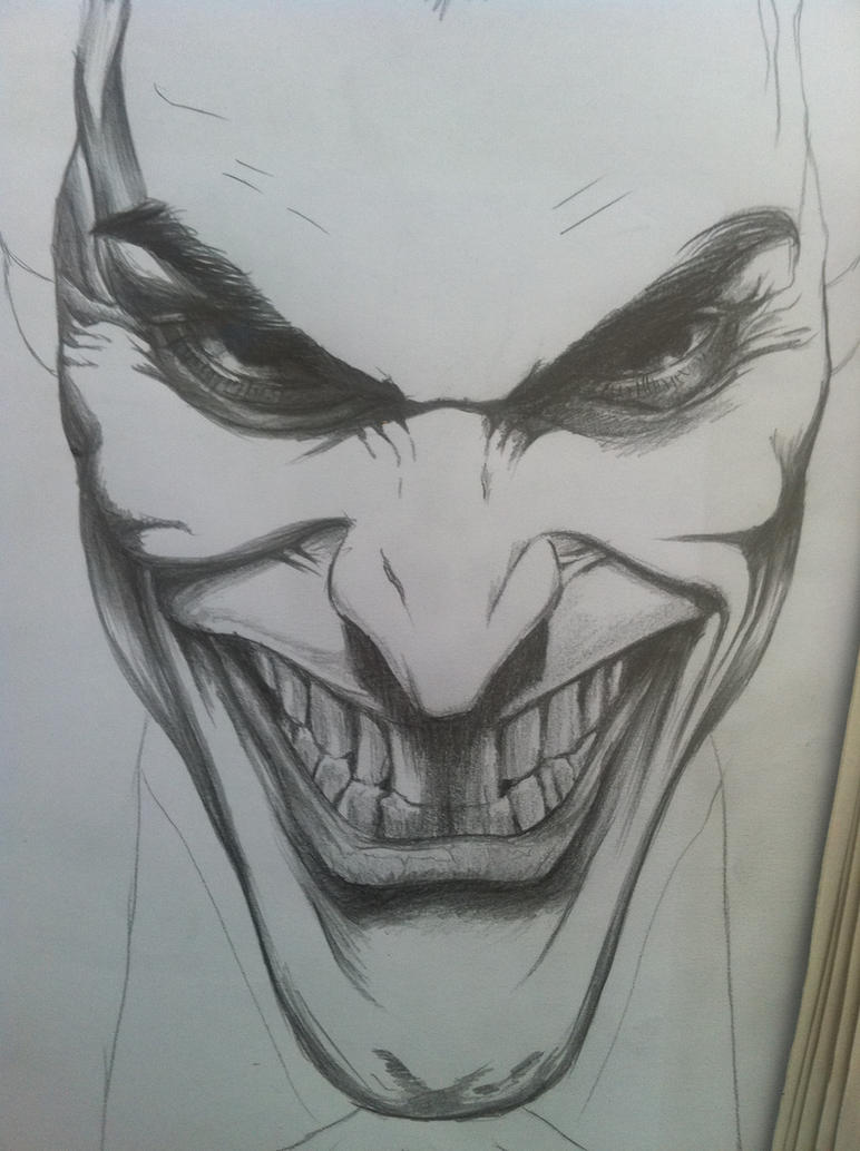 The Joker:initial Sketch by