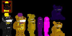 My fnaf 4 minigames style animatronics #2