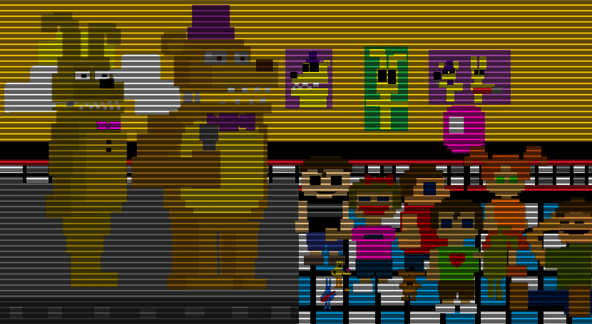 Five nightmares at fredbear s minigame room 1 by kero1395 on