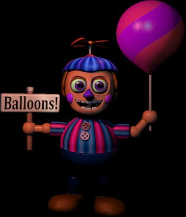 fnaf 2 jj ballon girl by kero1395 on deviantart