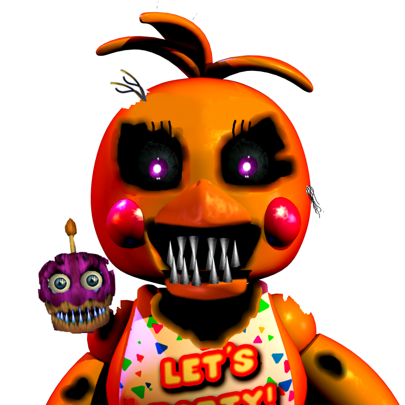 Chica Toy Chica Favourites By Goldenafro On Deviantart: Nightmare Toy Chica By Kero1395 On DeviantArt