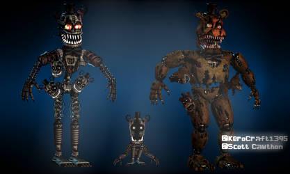 Nightmare Freddy Endo by Kero1395