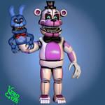 [Edits]  Nightmare Funtime Freddy