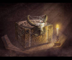 witch's box by AlexanderKorolev