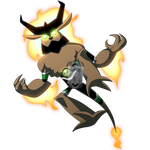 Alien Number X28: Jackal Lantern