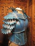 women's Leather Armor- Blue Jay 2