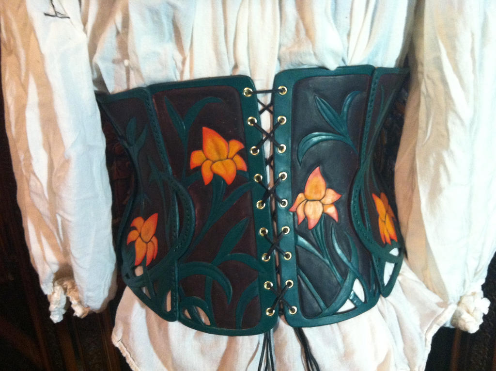 Asiatic Lily Underbust Armor by SavagePunkStudio