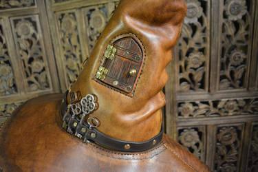 Portamancer's Hat, Detail by SavagePunkStudio