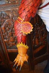Leather Dragon Arm by SavagePunkStudio