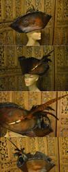 Unseelie Tricorn Hat by SavagePunkStudio