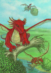 Dragons with Trees