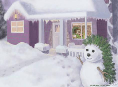 Lorelei in winter