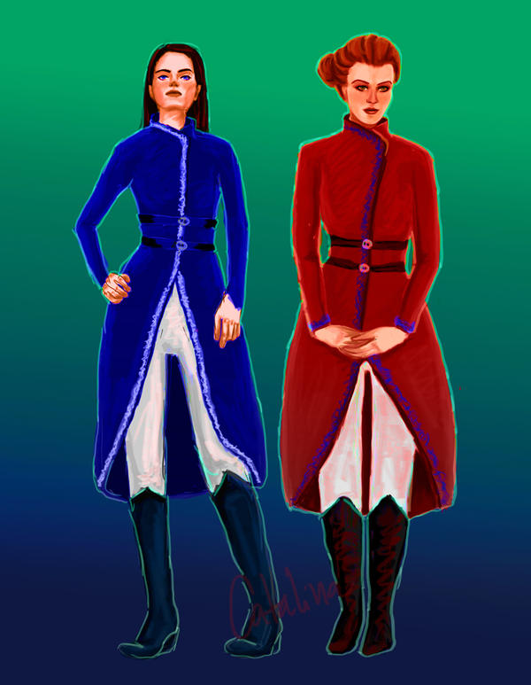 Zoya and Genya by gaunt-ariita