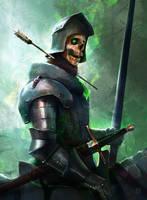 Undead  Warrior by Oana-D