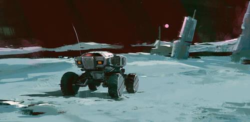 planetary rover sketch