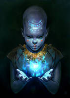Child of the Ancient Gods - personal work