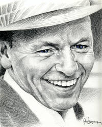 Frank Sinatra by MonsterPappa