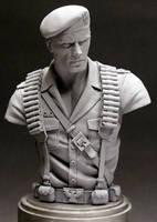 GI Joe 'Flint' bust by MonsterPappa
