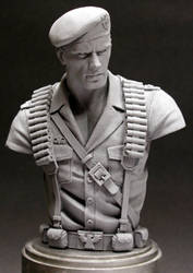 GI Joe 'Flint' bust