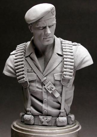 GI Joe 'Flint' bust