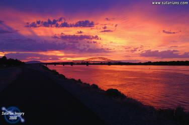 Awesome Vibrant Sunset by LexGoyle