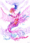watercolor 15 Water fairy by arielchoi