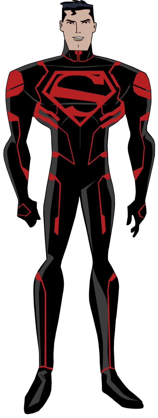 DCAU Superboy with New 52 design by PeterHlavacs on DeviantArt