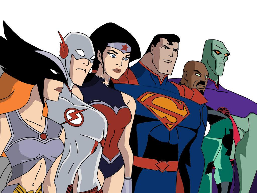 justice league cartoon - HD2000×1500