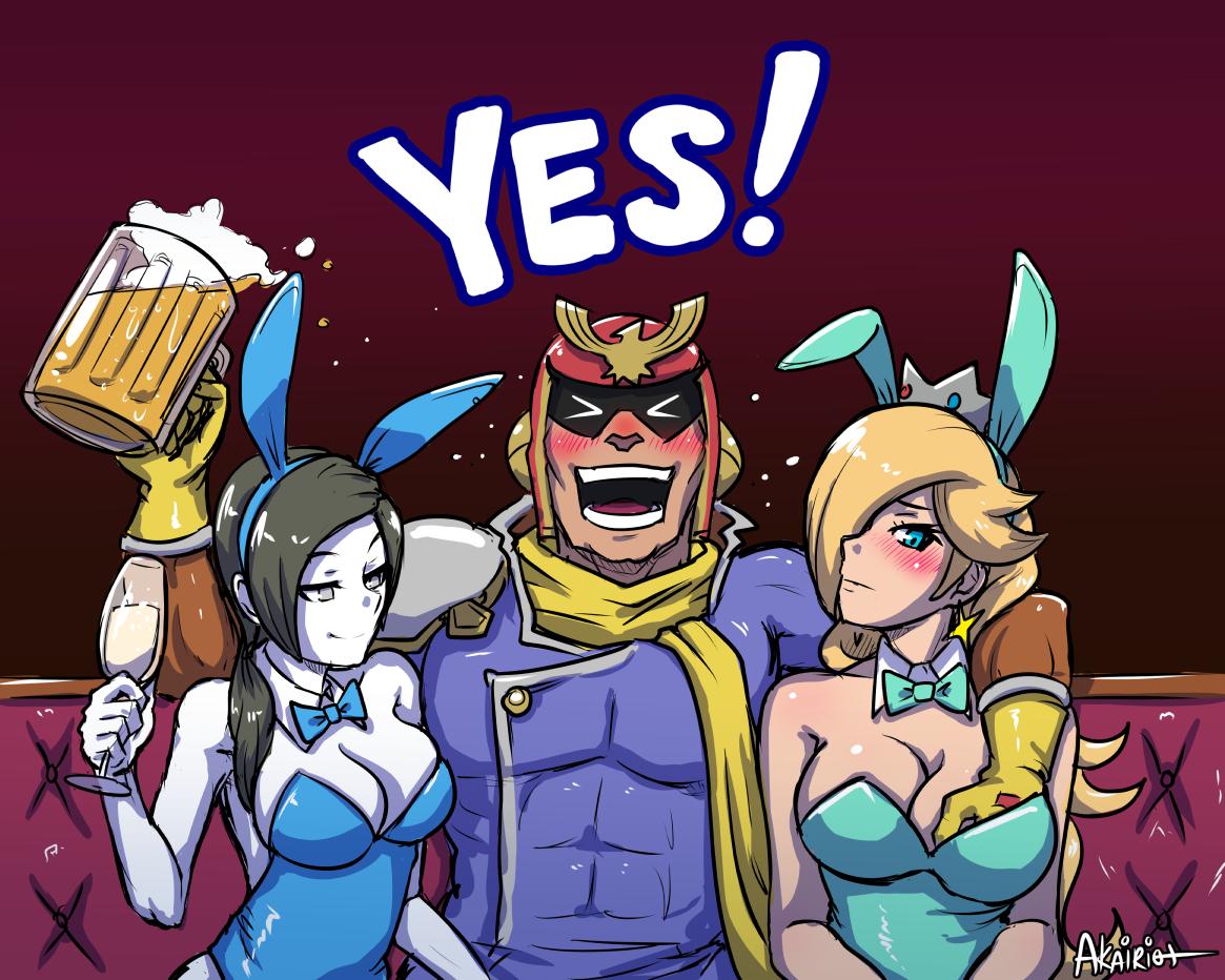 Captain Falcon Comic by dragongirl77 on DeviantArt  |Captain Falcon Girl