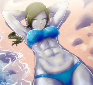 beach fit trainer
