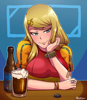 samus at the bar (hd remix)