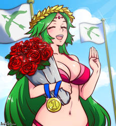 palutena wins the waifu war by akairiot