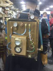 Steampunk! Backpack by Styhx